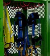 KNAACK Safety Kage Jobsite Fall Protection Storage