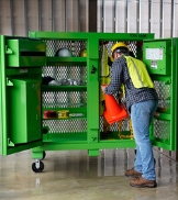 KNAACK Safety Kage Jobsite Storage PPE Organization