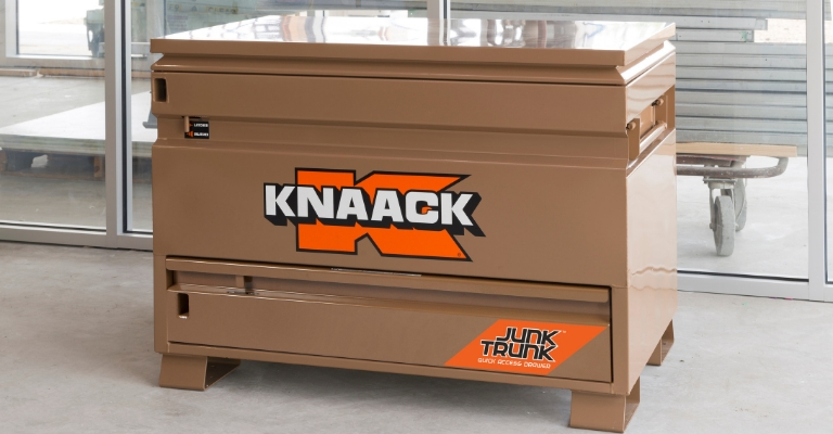 KNAACK 4830-D Jobsite Storage Box Heavy Duty Design