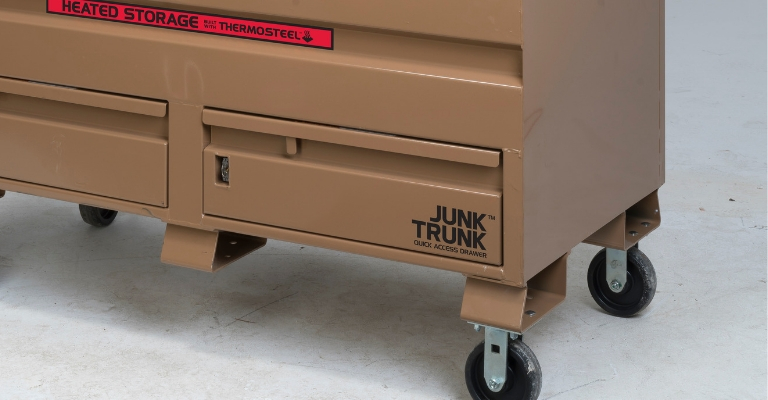 KNAACK 89-DH Jobsite Storage Box with ThermoSteel Heated Storage