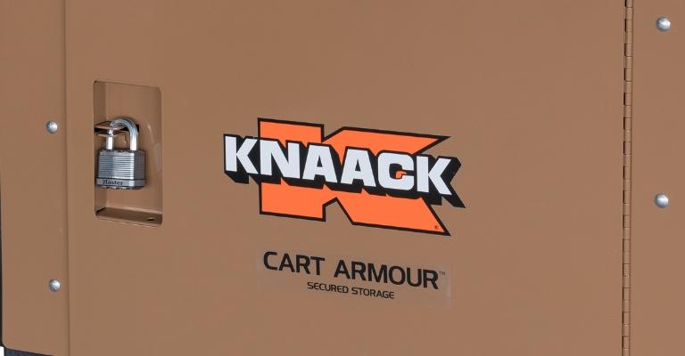 KNAACK Cart Armour Secure Padlock Design