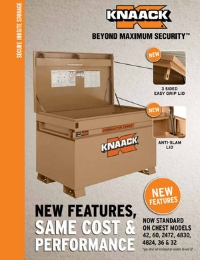 KNAACK JOBMASTER Chest Features Flyer