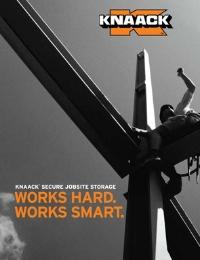 KNAACK Secure Jobsite Storage - International Catalog