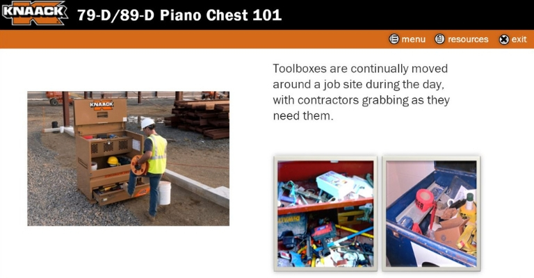 KNAACK Piano Chest 101 Online Training