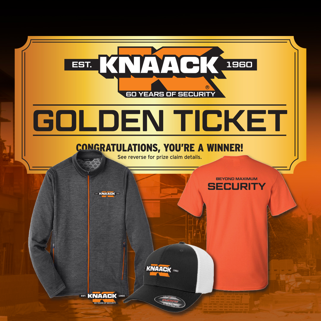 KNAACK Golden Ticket Swag